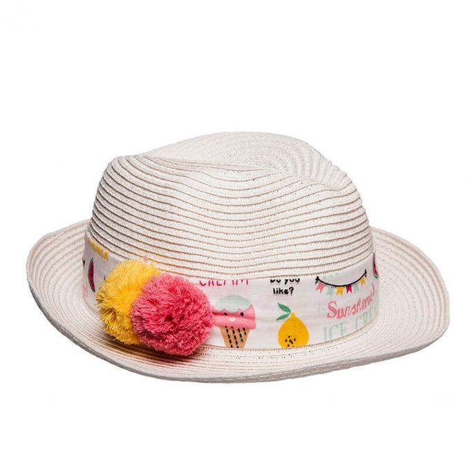Υπέροχο παιδικό καπέλο για κορίτσι